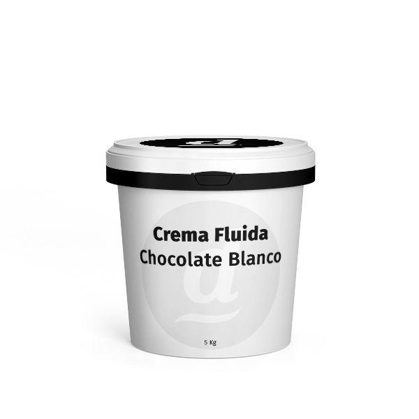 Crema Fluida Leche con Avellanas Cubo 5 kg