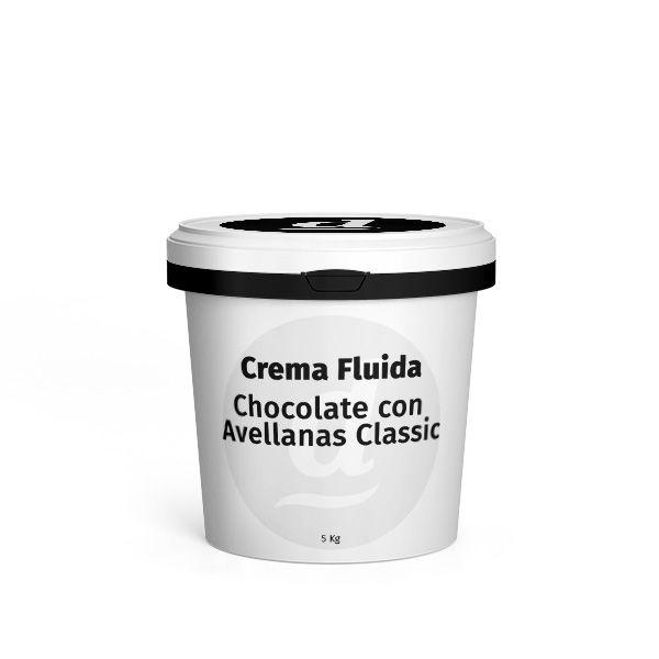 Crema Fluida Chocolate con Avellanas Classic Cubo 5 kg