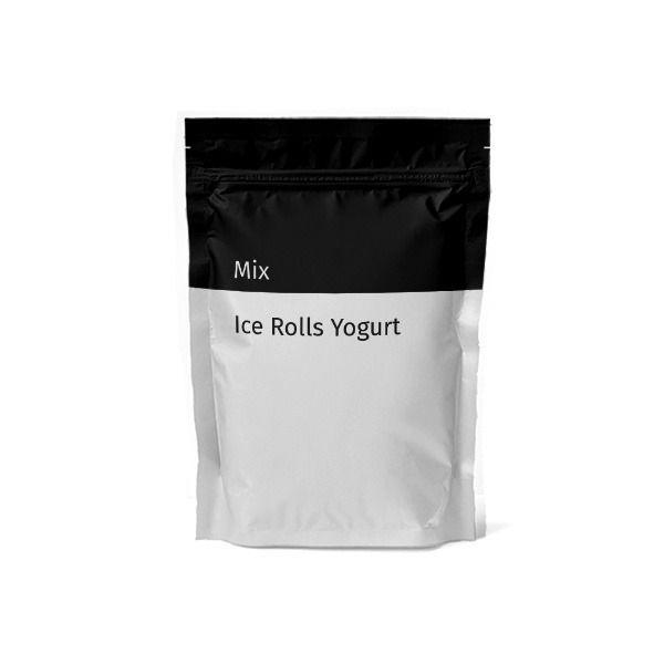 Mix Ice Rolls Yogurt